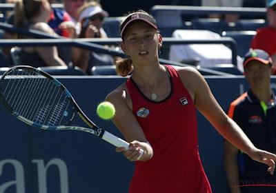 """Dominique Monami vol lof over Belgische tennister: """"Het niveau van een top 20-speelster"""""""