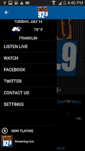 Radio 92.9 WBOS- screenshot thumbnail