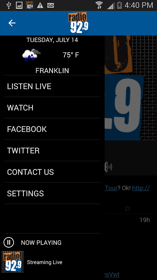 Radio 92.9 WBOS- screenshot