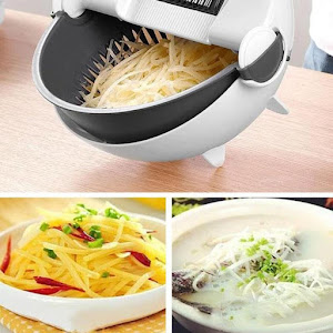 Feliator de legume cu strecurator, Vet Basket Vegetable Cutter