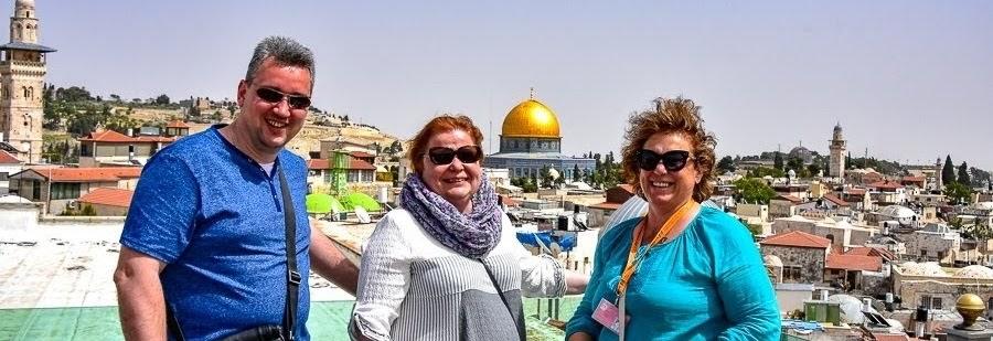 Гид в Иерусалиме Светлана Фиалекова с туристами. Отзыв об экскурсии.