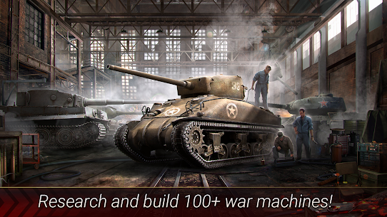 World of Armored Heroes: WW2 Tank Strategy Wargame 1.2.0 Mod + Data for Android 3