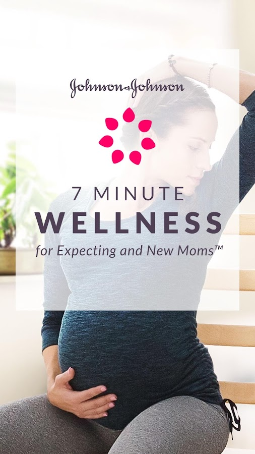 J&J 7 Minute Wellness for Moms- screenshot