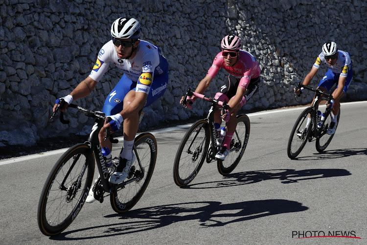 """Spurter van Deceuninck-Quick.Step kwam nog nooit dichterbij in Giro: """"Chaotische finale, we blijven erin geloven"""""""
