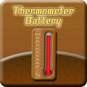 Thermometer Battery icon