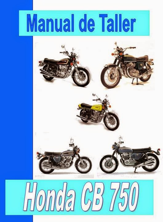 honda cb 750 manual-taller-servicio-despiece