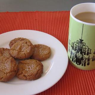 Lazy Treacle Cookies.