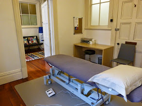Photo: The treatment room at Central City Osteopaths
