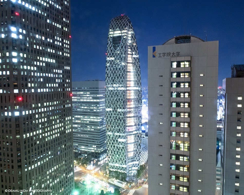 京王プラザホテルから撮った夜景