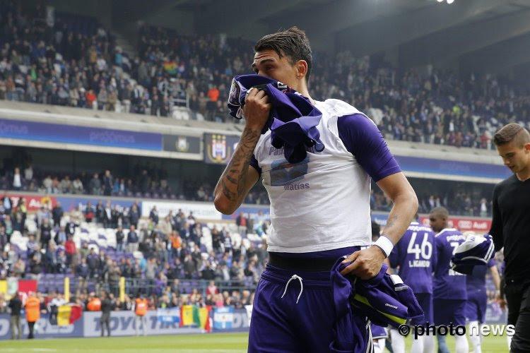 """Matias Suarez: """"Je veux rejouer à Anderlecht, pour faire mes adieux au public bruxellois"""""""