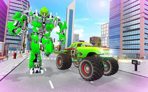 Download monster robot car transform: robot shooting war For PC Windows and Mac apk screenshot 20
