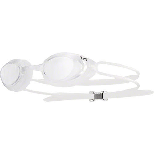 TYR Blackhawk Femme Goggle: Clear Lens/Clear Frame