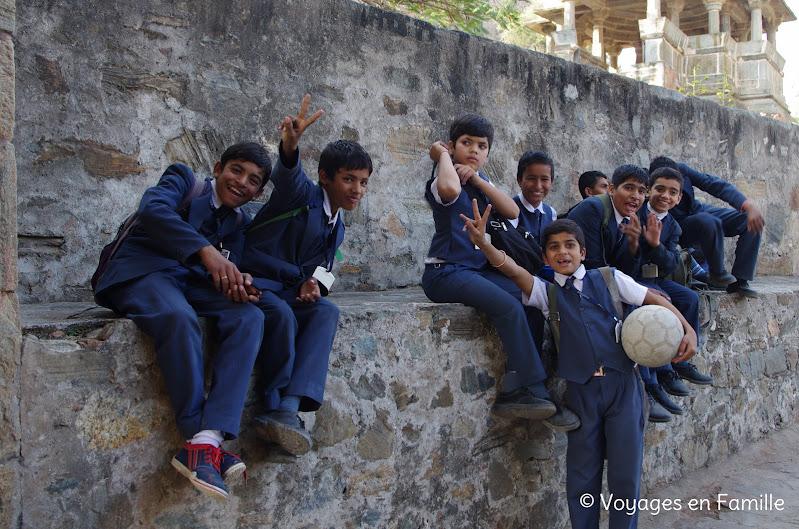 Kumbhalgarh, jeunes