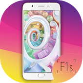 Launcher Theme for Oppo F1s