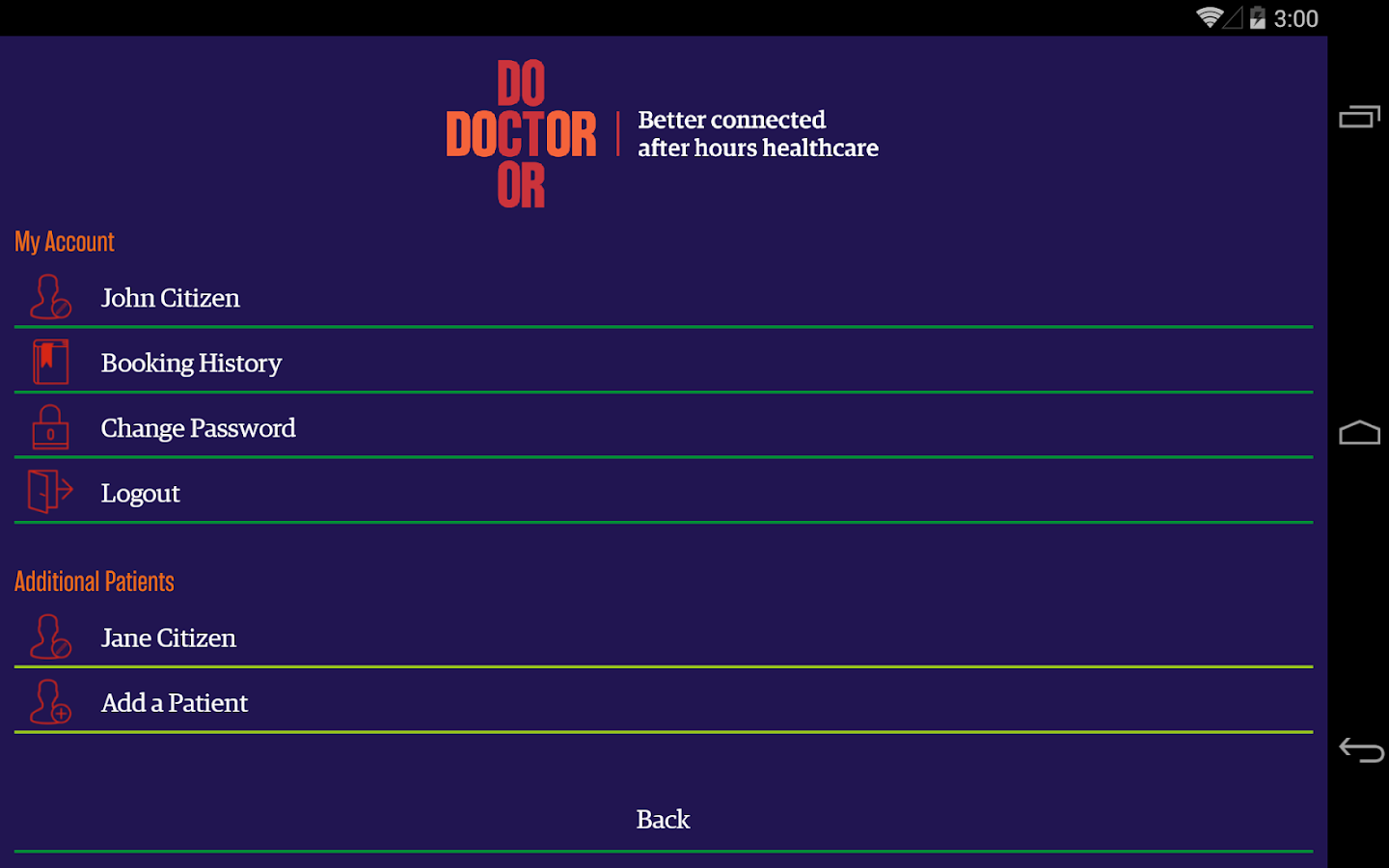 DoctorDoctor- screenshot