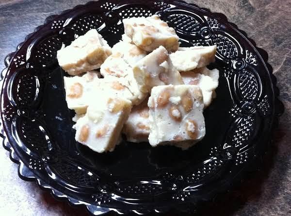 Mom's Blonde Peanut Fudge