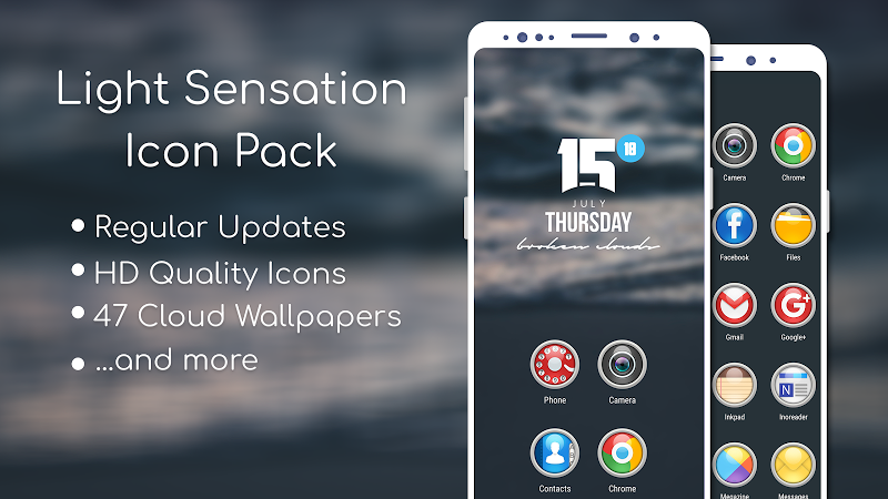 Light Sensation Icon Pack Screenshot 0