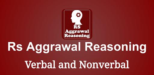 R S Aggarwal Reasoning Verbal Non Verbal Apps On Google Play