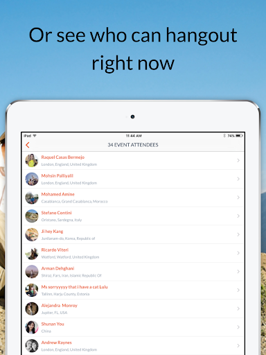 Couchsurfing Travel App 4.36.5 Screenshots 10