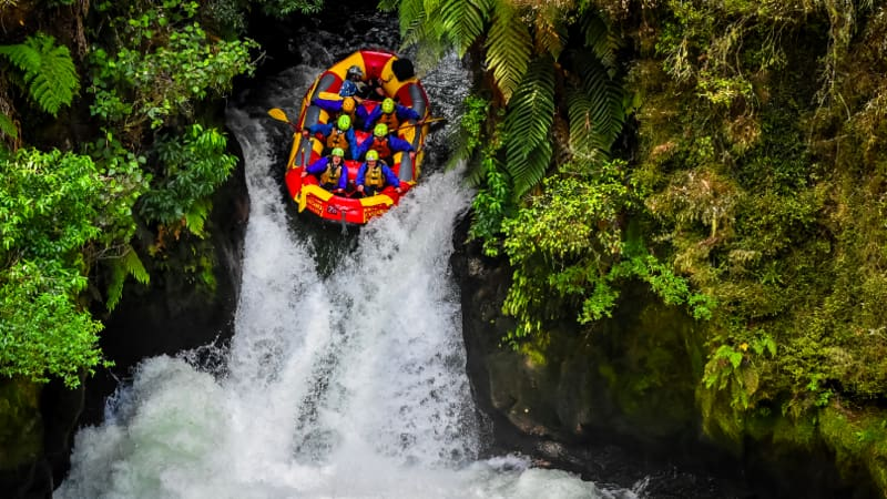 White Water Rafting in the Kaituna River