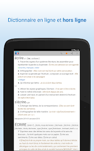 Dictionnaire français- screenshot thumbnail