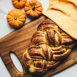 Pumpkin Walnut Brioche