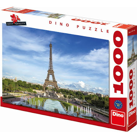 Pussel 1000 Bitar Paris Eiffeltornet, Dino