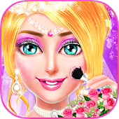 MakeUp Salon Princess Wedding - Girls Game