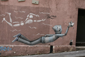 Photo: Street art - Jerôme Mesnager -Paris Ve -rue Blainville