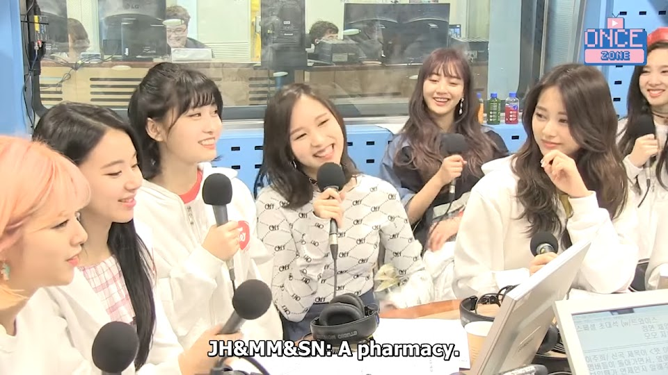 [ENG SUB] 180410 SBS Power FM _Choi Hwajung's Power Time' with TWICE 38-9 screenshot