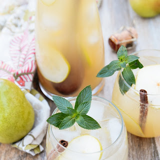Spiced Pear & Ginger Pitcher Cocktail.