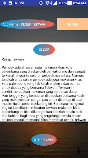 RESEP TEKWAN