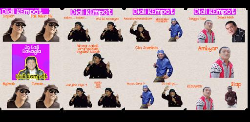 Sticker Sahabat Ambyar Cendol Dawet Didi Kempot Wa Apps On