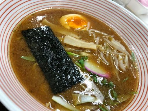 新居浜市役所食堂味噌ラーメン