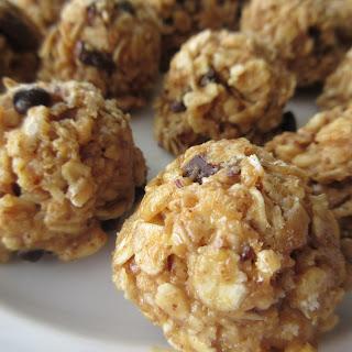 Peanut Butter Oatmeal Bites - my fav!