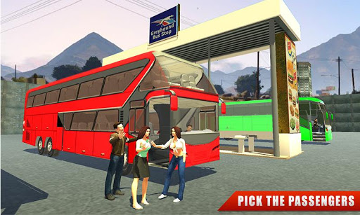Euro Coach Bus Driving - offroad drive simulator 1.3 screenshots 1