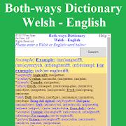 Both-ways Dictionary Welsh - English
