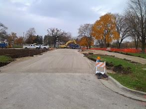 Photo: New Entrance Drive 11-5-2013