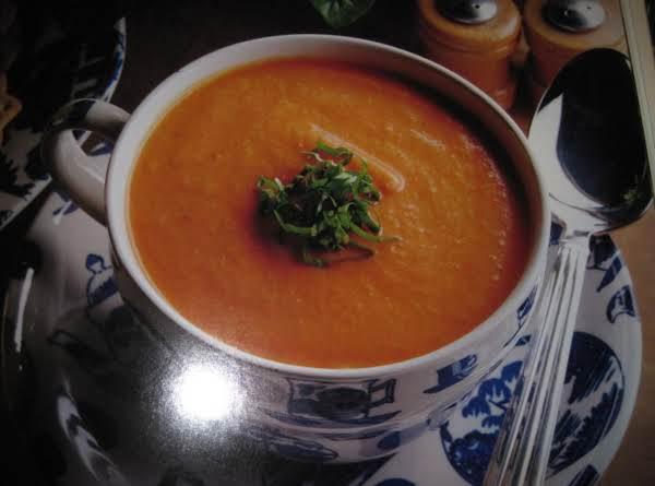 Tomato Cream Soup By Rose Recipe