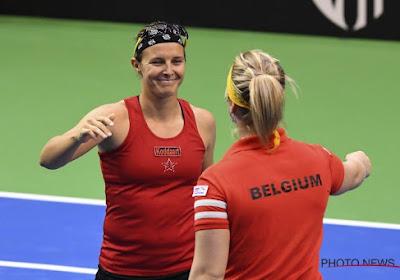 """""""Le coup du mois de mars 2019"""" revient à Kirsten Flipkens lors de son match contre Eugénie Bouchard à Indian Wells"""