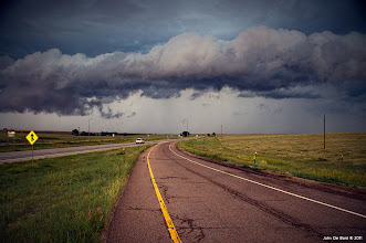 Photo: Gust front outside of Agate Colorado from storm chasing today