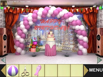Escape From Girl BirthdayParty screenshot 4