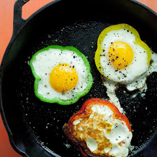 Bell Pepper Eggs.