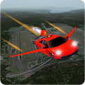 Sky Flying Car Extreme 3D 2019 icon