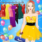 Princess Summer Prom Dress up icon