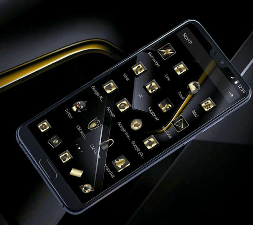 Gold Black Business Theme for PC