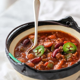 Killer Beef and Bean Chili.