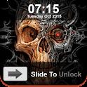 Skull Slide Screen Lock icon
