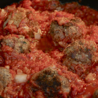 Turkey Meatballs with Red Sauce
