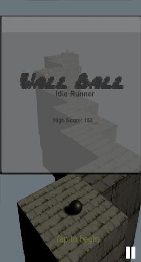 Wall Ball Idle Runner 0.1 screenshots 1